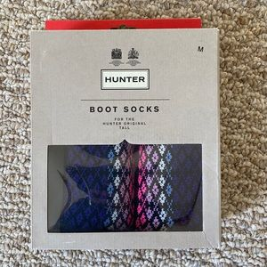 NIB Hunter Tall Boot Socks - Medium